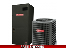 2 Ton 14 SEER Central Air Conditioner System Goodman GSX14/ARUF